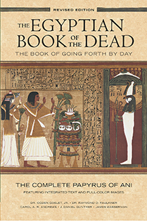 Paperback cover jpeg of the twentieth anniversary edition of The Egyptian Book of the Dead produced by Studio 31